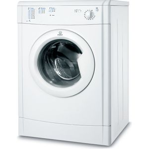 Indesit EcoTime IDV 75 Tumble Dryer in White