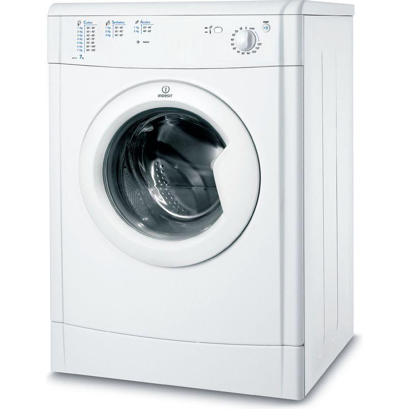 Indesit-Dryer-IDV-75--UK--White-Perspective