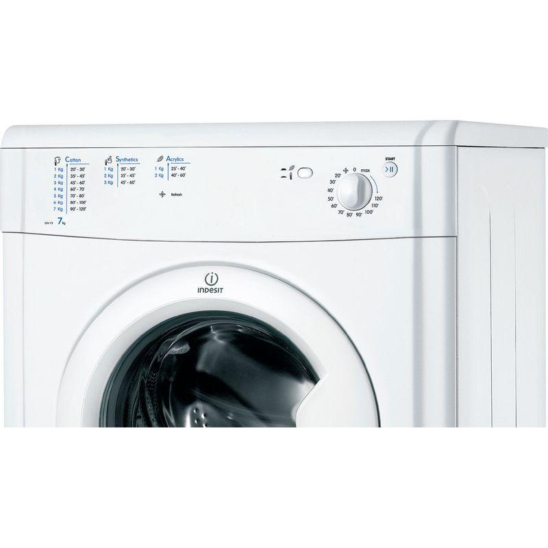 Indesit-Dryer-IDV-75--UK--White-Control-panel