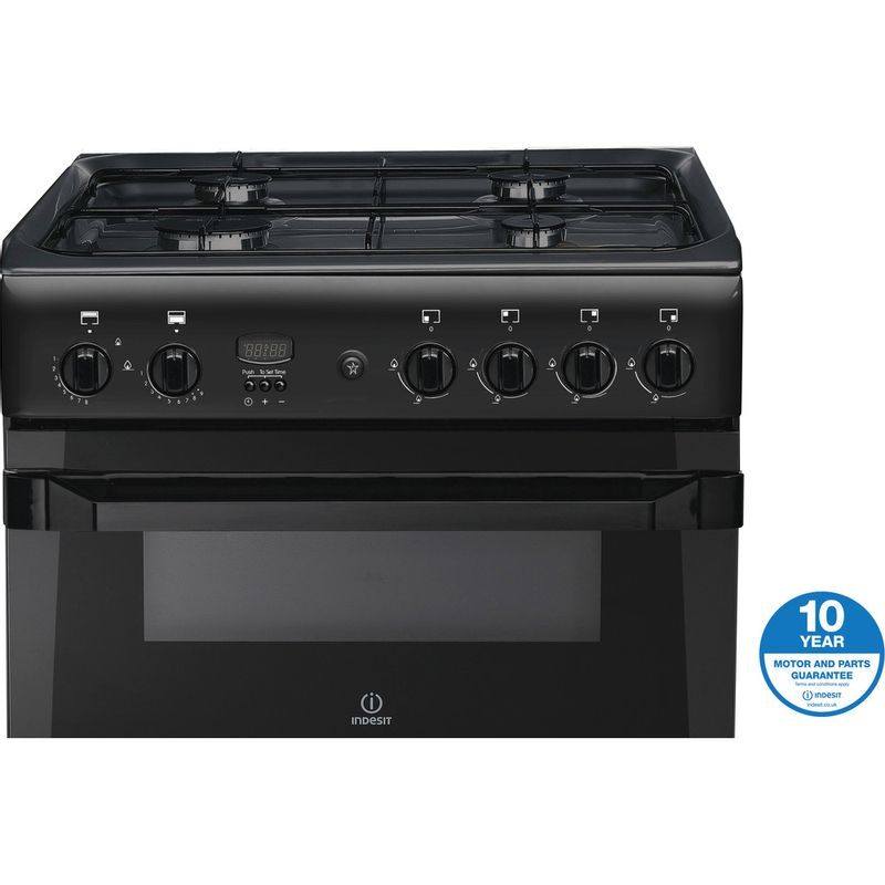 Indesit-Double-Cooker-ID60G2-A--Antracite-A--Enamelled-Sheetmetal-Award