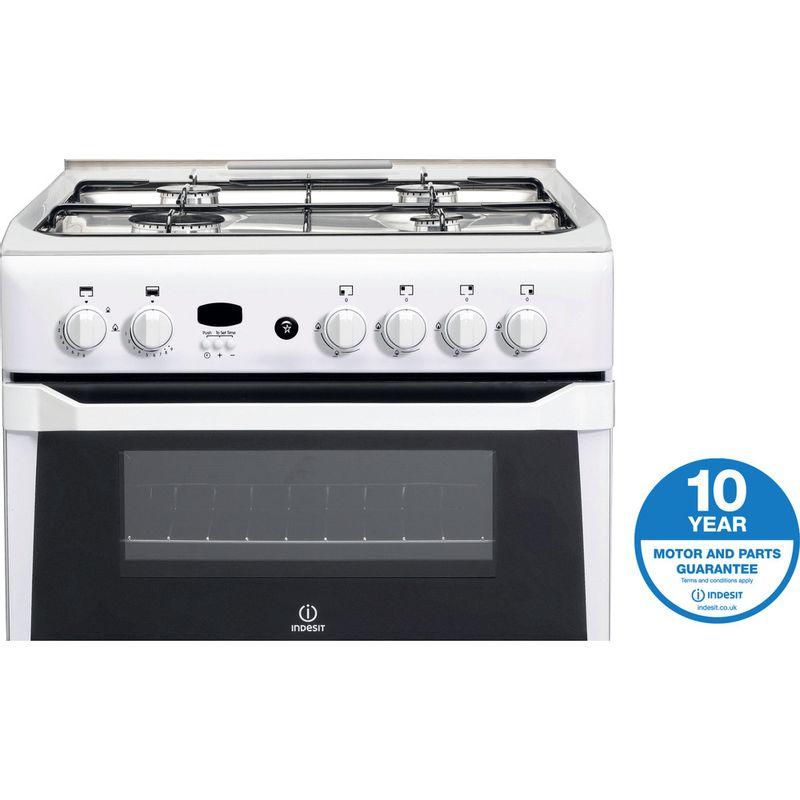 Indesit-Double-Cooker-ID60G2-W--White-A--Enamelled-Sheetmetal-Award