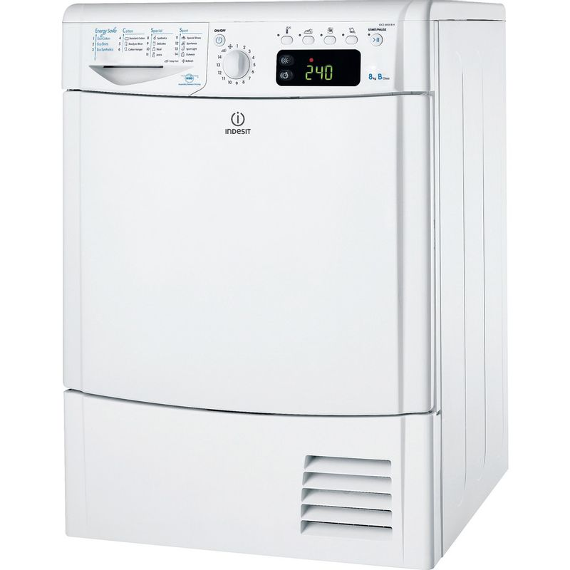 Indesit-Dryer-IDCE-8450-B-H--UK--White-Perspective