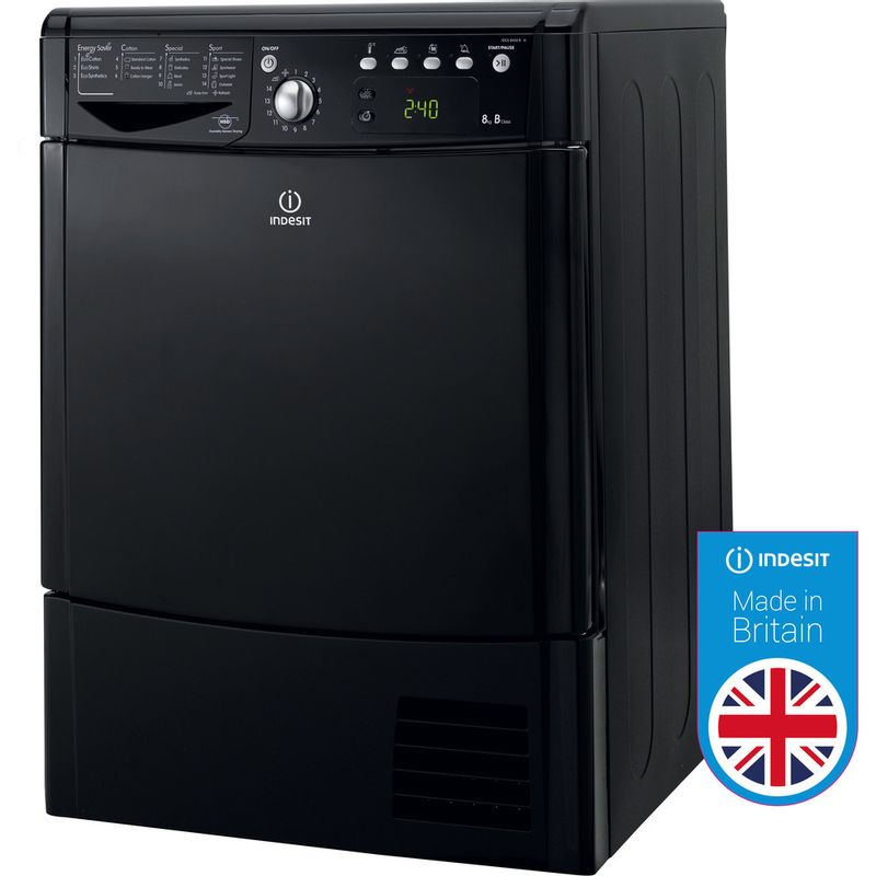 Indesit-Dryer-IDCE-8450-BK-H--UK--Black-Award