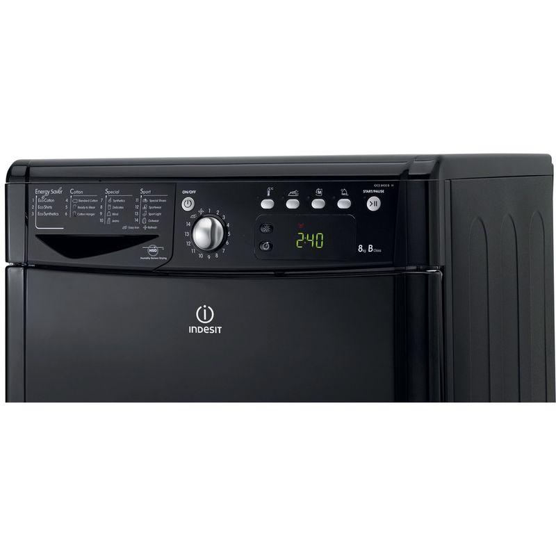 Indesit-Dryer-IDCE-8450-BK-H--UK--Black-Control-panel