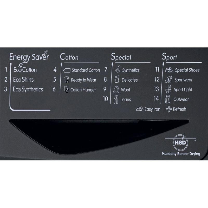 Indesit-Dryer-IDCE-8450-BK-H--UK--Black-Program