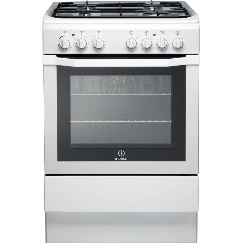 Indesit-Cooker-I6GG1-W--UK-White-Frontal
