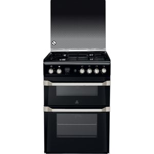 Indesit ID60G2(K) Cooker in Black