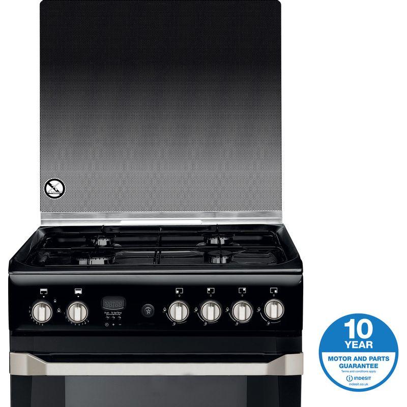 Indesit-Double-Cooker-ID60G2-K--UK-Black-A--Enamelled-Sheetmetal-Award
