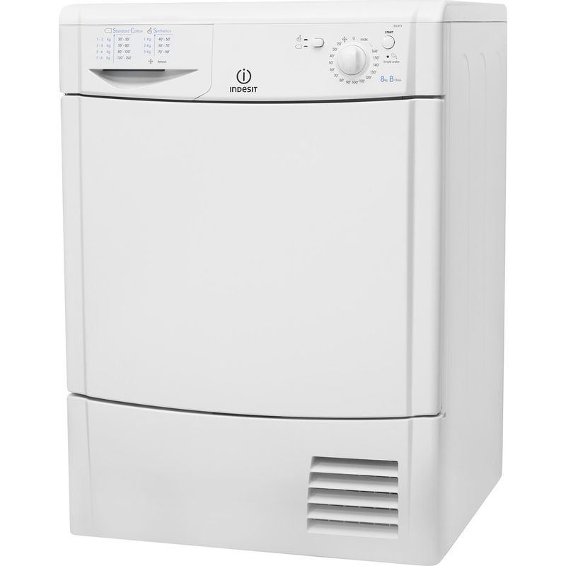 Indesit-Dryer-IDC-8T3-B--UK--White-Perspective