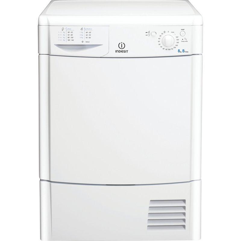 Indesit-Dryer-IDC-8T3-B--UK--White-Frontal