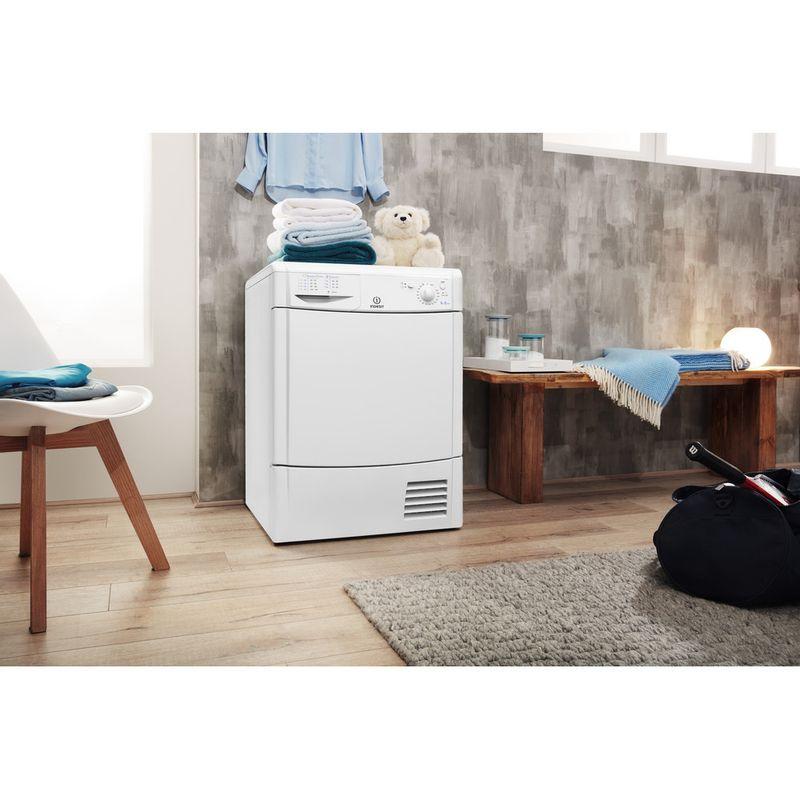 Indesit-Dryer-IDC-8T3-B--UK--White-Lifestyle-perspective