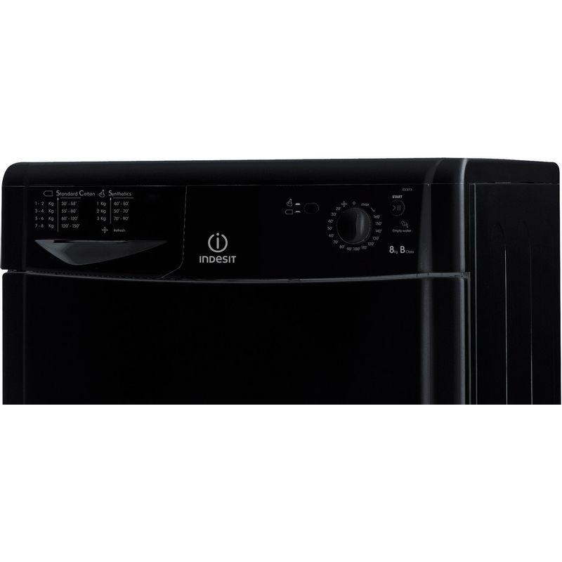 Indesit-Dryer-IDC-8T3-B-K--UK--Black-Control_Panel