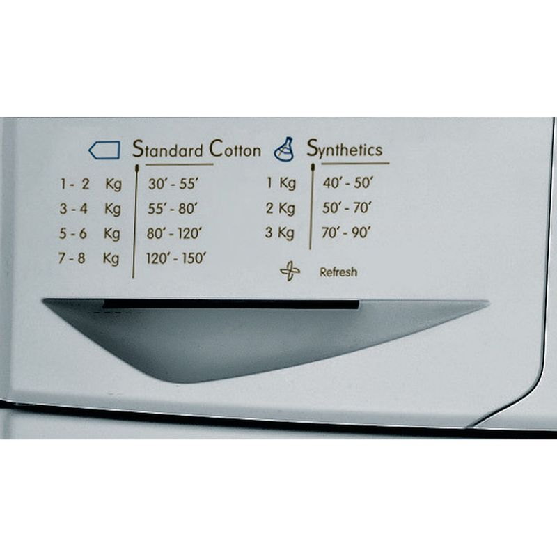 Indesit-Dryer-IDC-8T3-B-S--UK--Silver-Program