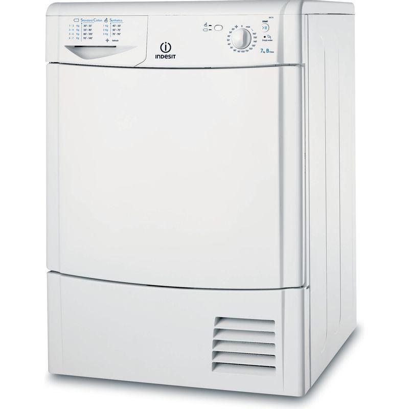Indesit-Dryer-IDC-75-B--UK--White-Perspective