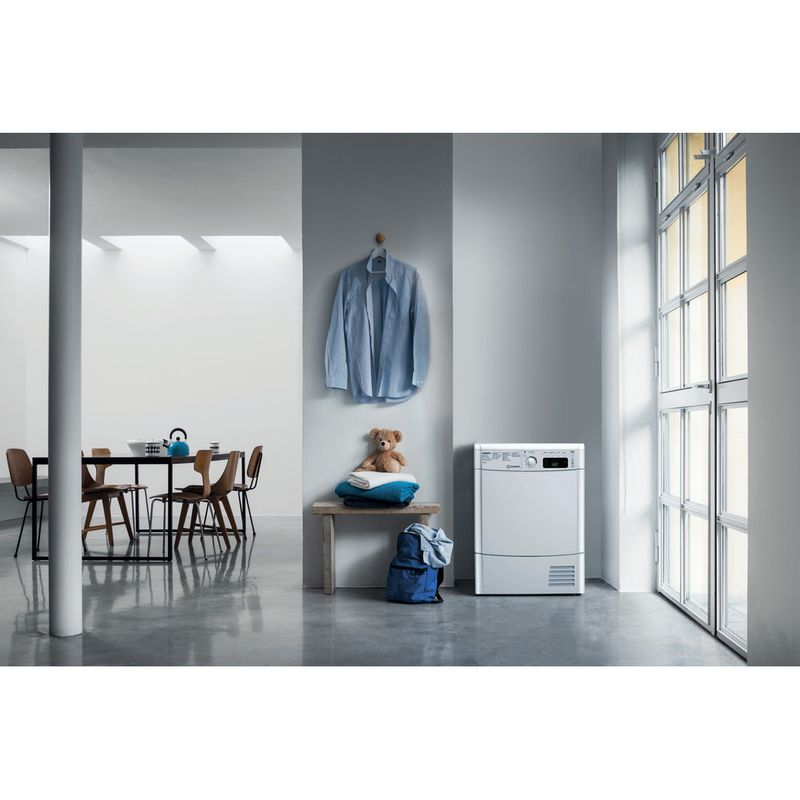 Indesit-Dryer-EDCE-85-B-TM--UK--White-Lifestyle-frontal