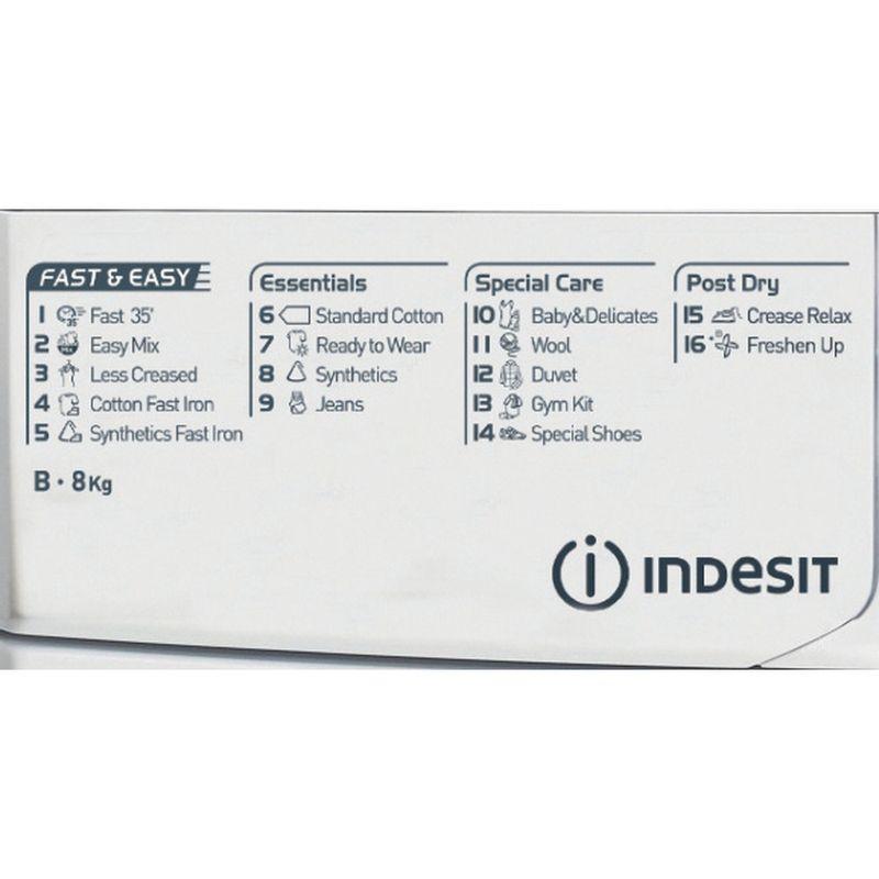 Indesit-Dryer-EDCE-85-B-TM--UK--White-Program