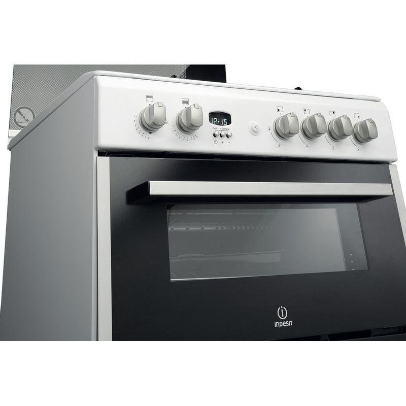 Indesit-Double-Cooker-DD60G2CG-W--UK-White-A--Enamelled-Sheetmetal-Lifestyle_Control_Panel