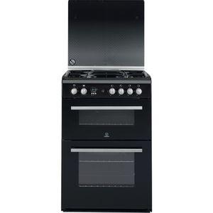 Indesit DD60G2CG(K) Cooker in Black