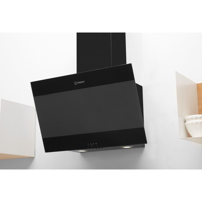 Indesit-HOOD-Built-in-IHVP-6.6-LM-K-Black-Wall-mounted-Mechanical-Lifestyle-perspective