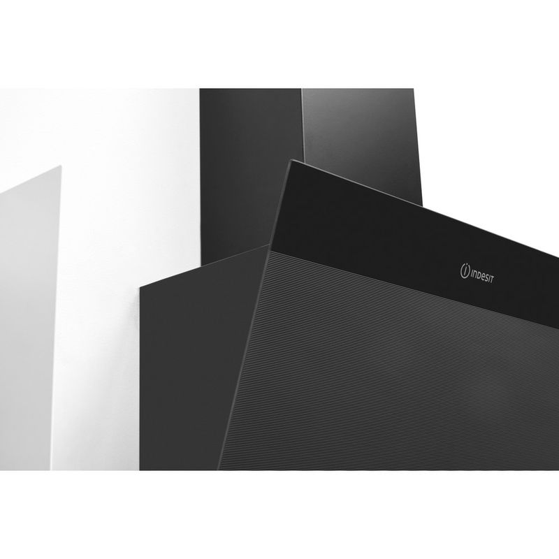 Indesit-HOOD-Built-in-IHVP-6.6-LM-K-Black-Wall-mounted-Mechanical-Lifestyle-detail