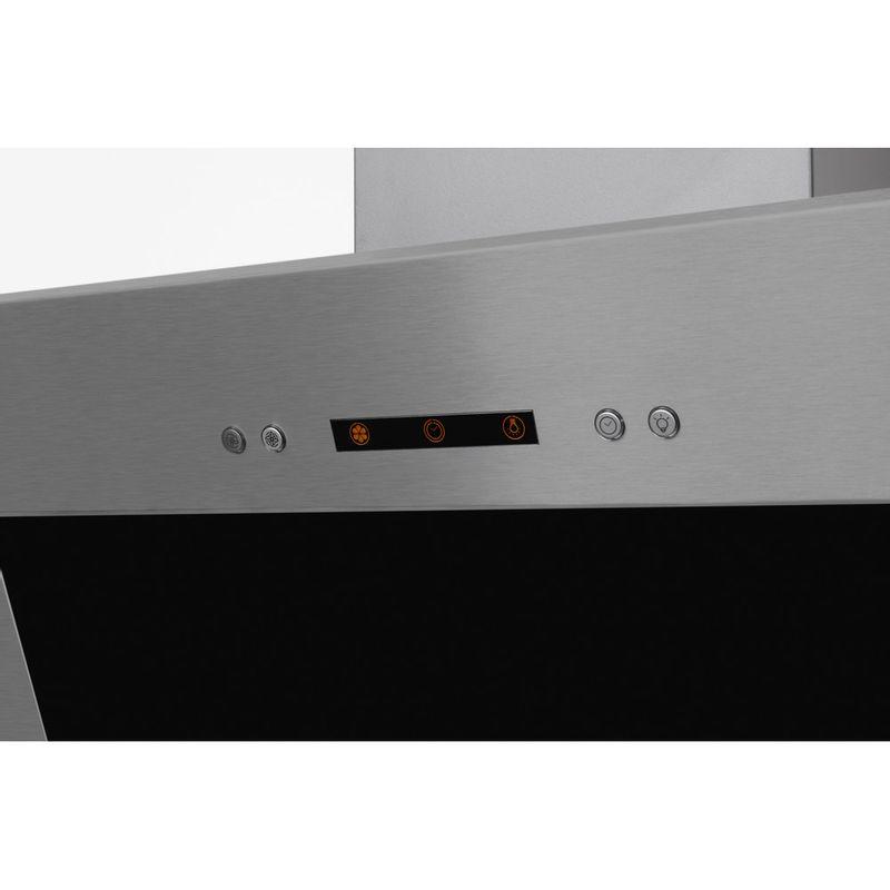 Indesit-HOOD-Built-in-IHVP-6.4-AL-K-Black-Wall-mounted-Mechanical-Control-panel