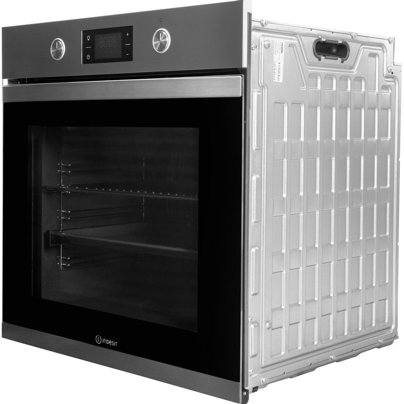Indesit-OVEN-Built-in-KFW-3841-JH-IX-UK-Electric-A--Perspective