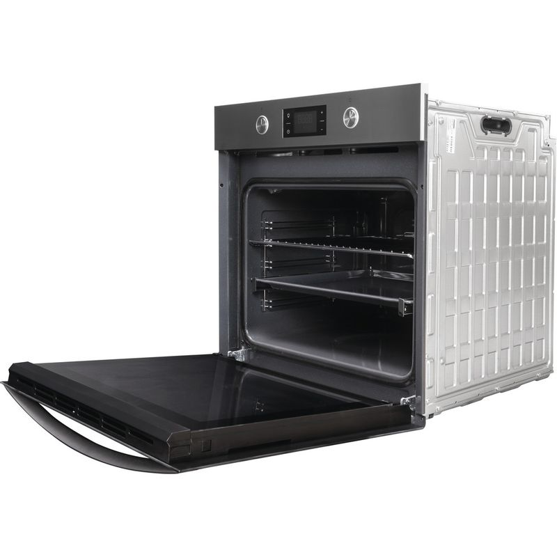Indesit-OVEN-Built-in-KFW-3841-JH-IX-UK-Electric-A--Perspective-open