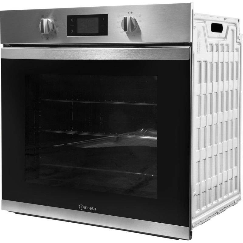 Indesit-OVEN-Built-in-KFW-3844-H-IX-UK-Electric-A--Perspective