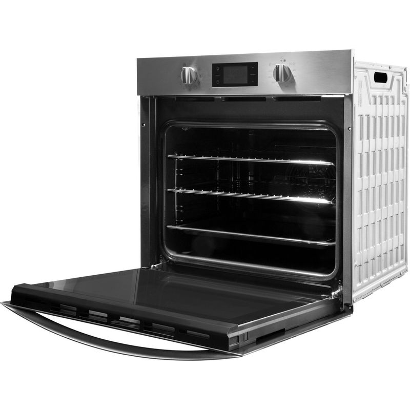 Indesit-OVEN-Built-in-KFW-3844-H-IX-UK-Electric-A--Perspective-open