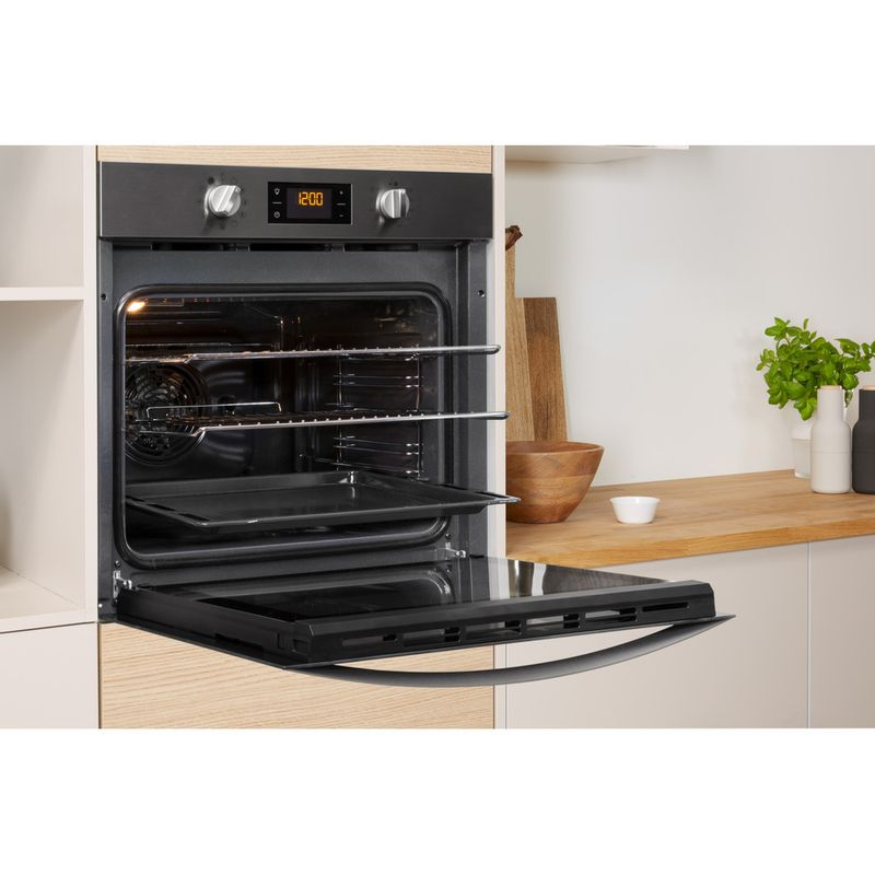 Indesit-OVEN-Built-in-KFW-3844-H-IX-UK-Electric-A--Lifestyle-perspective-open