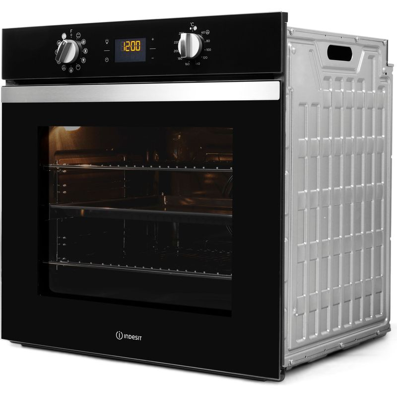 Indesit-OVEN-Built-in-IFW-4841-C-BL-UK-Electric-A--Perspective
