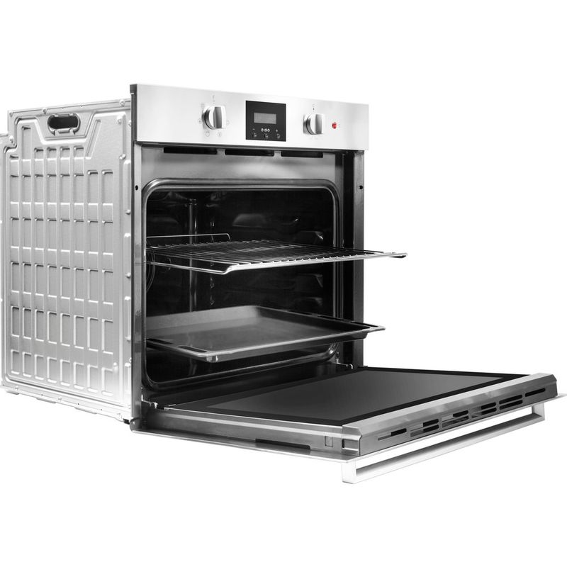 Indesit-OVEN-Built-in-IFW-65Y0-IX-UK-Electric-A-Perspective_Open