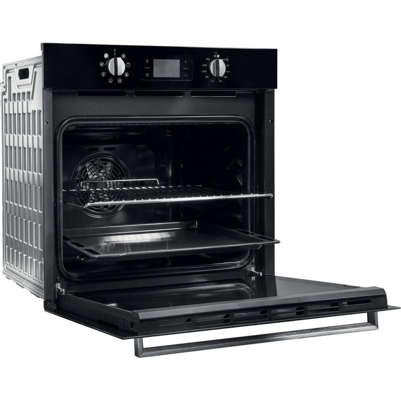 Indesit-OVEN-Built-in-IFW-6340-BL-UK-Electric-A-Perspective-open