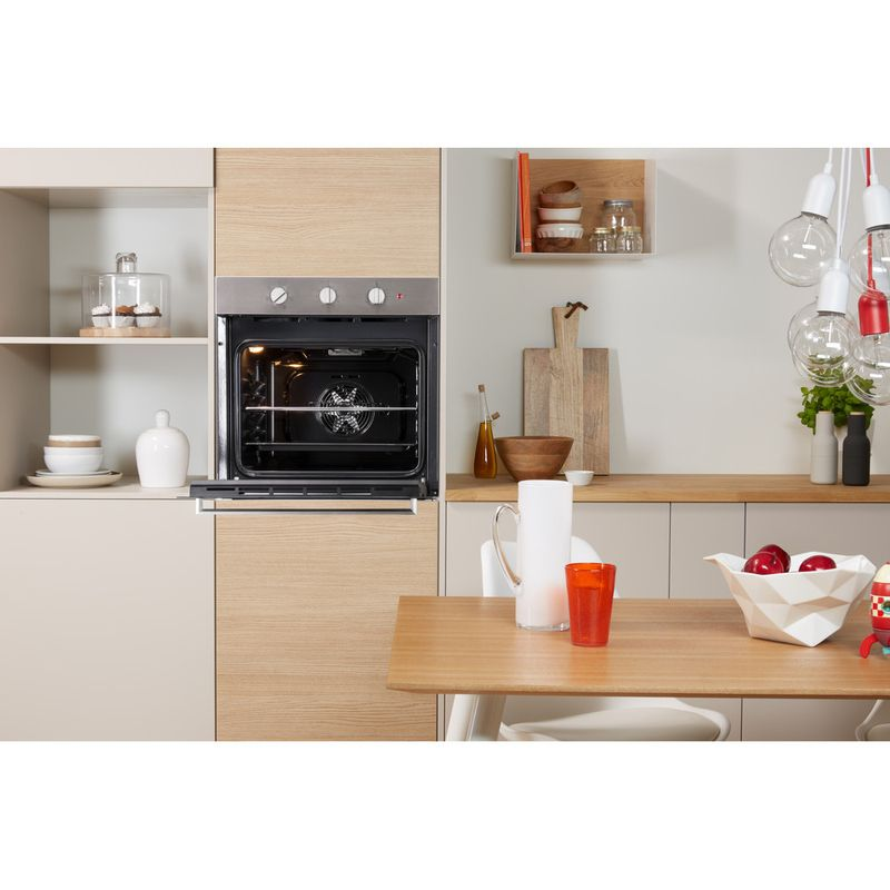 Indesit-OVEN-Built-in-IFW-6330-IX-UK-Electric-A-Lifestyle-frontal-open