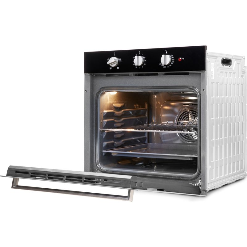 Indesit-OVEN-Built-in-IFW-6330-BL-UK-Electric-A-Perspective-open