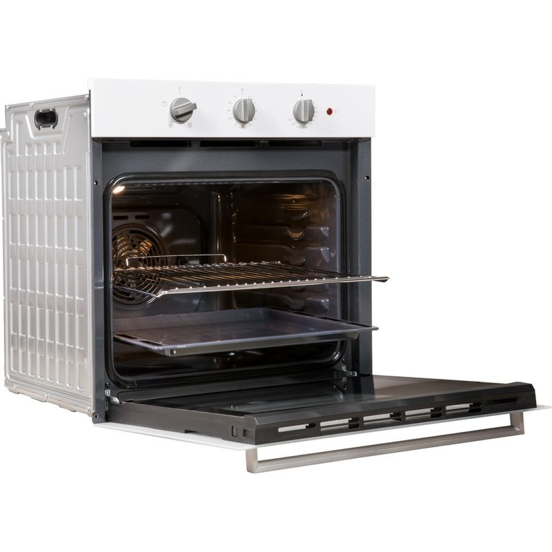 Indesit-OVEN-Built-in-IFW-6330-WH-UK-Electric-A-Perspective-open