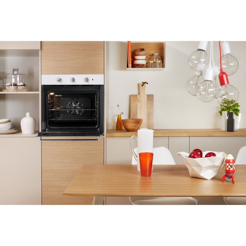 Indesit-OVEN-Built-in-IFW-6330-WH-UK-Electric-A-Lifestyle-frontal-open
