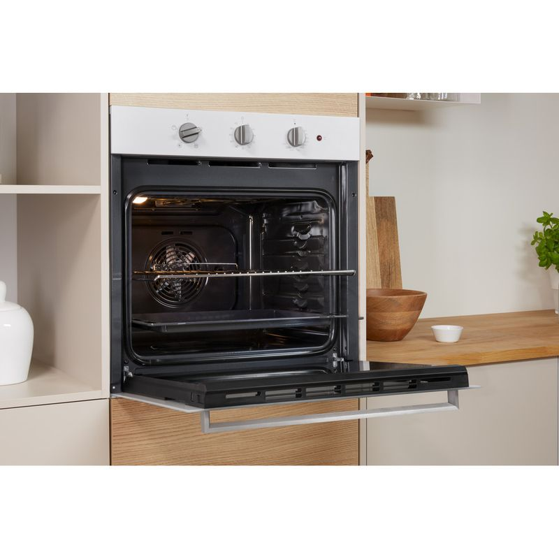 Indesit-OVEN-Built-in-IFW-6330-WH-UK-Electric-A-Lifestyle-perspective-open