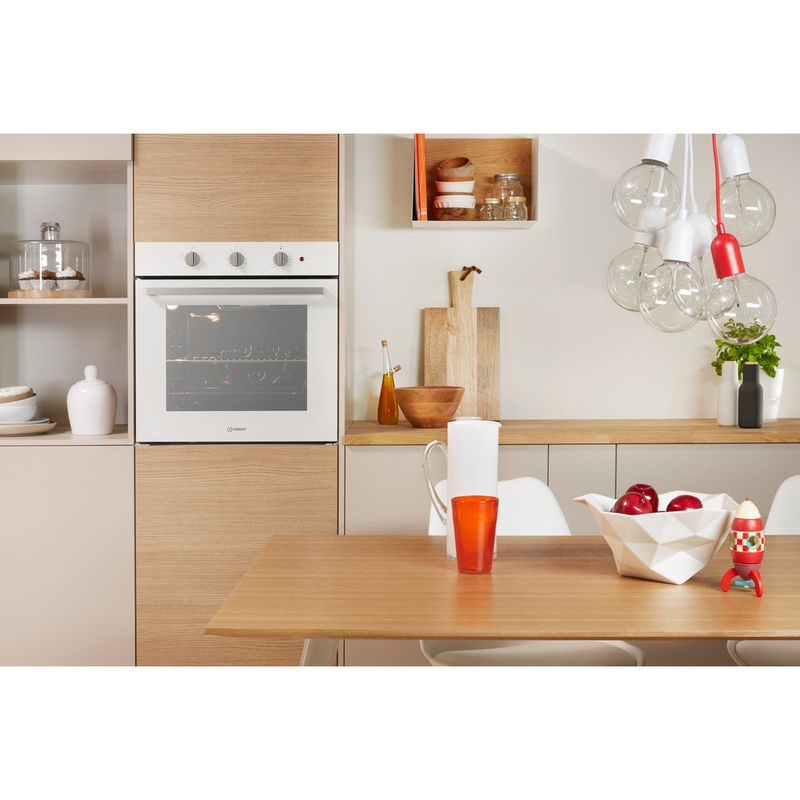 Indesit-OVEN-Built-in-IFW-6230-WH-UK-Electric-A-Lifestyle-frontal-open