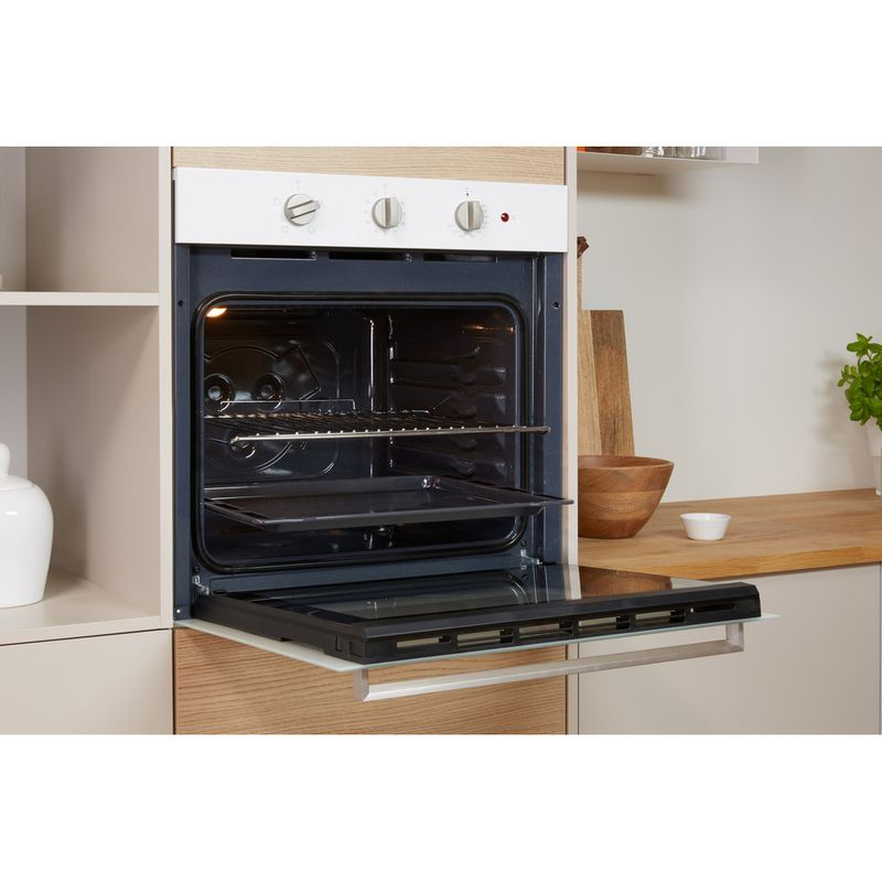 Indesit-OVEN-Built-in-IFW-6230-WH-UK-Electric-A-Lifestyle-perspective-open