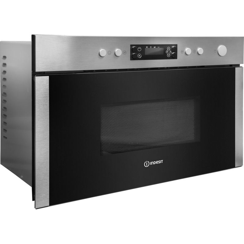 Indesit-Microwave-Built-in-MWI-5213-IX-UK-Stainless-steel-Electronic-22-MW-Grill-function-750-Perspective