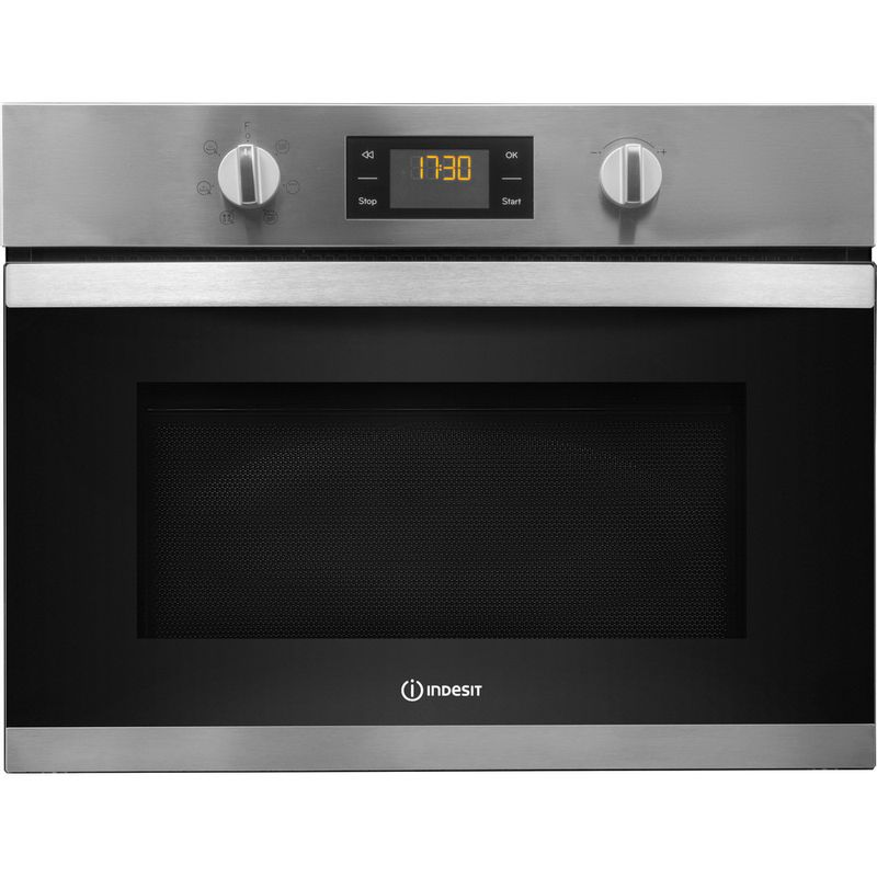 Indesit-Microwave-Built-in-MWI-3443-IX-UK-Stainless-steel-Electronic-40-MW-Grill-function-900-Frontal