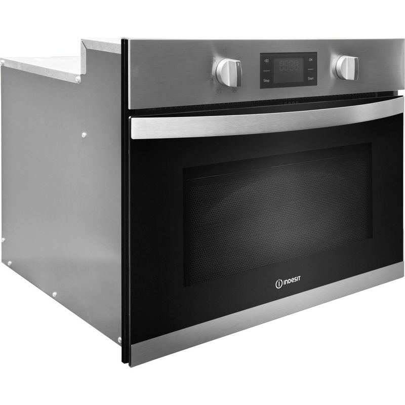 Indesit-Microwave-Built-in-MWI-3443-IX-UK-Stainless-steel-Electronic-40-MW-Grill-function-900-Perspective