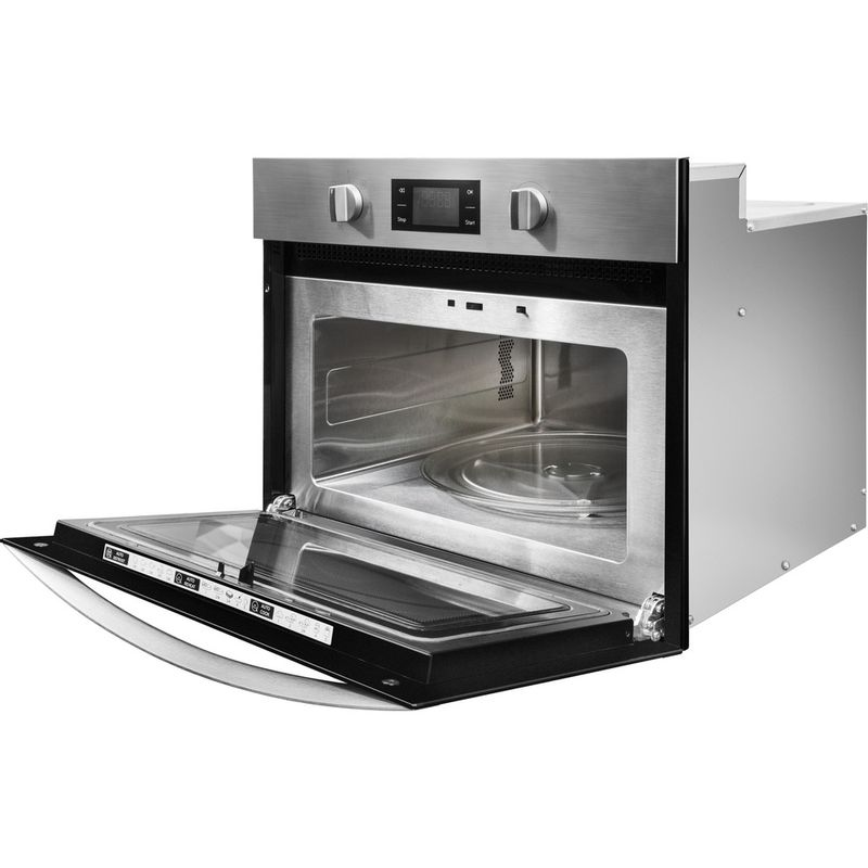 Indesit-Microwave-Built-in-MWI-3443-IX-UK-Stainless-steel-Electronic-40-MW-Grill-function-900-Perspective-open