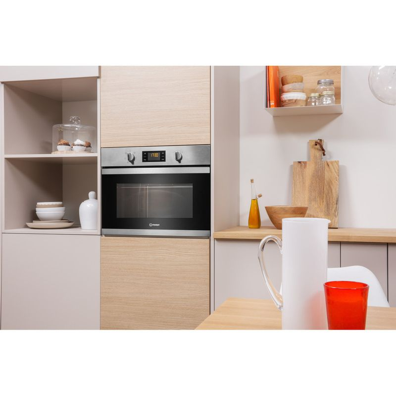 Indesit-Microwave-Built-in-MWI-3443-IX-UK-Stainless-steel-Electronic-40-MW-Grill-function-900-Lifestyle-perspective
