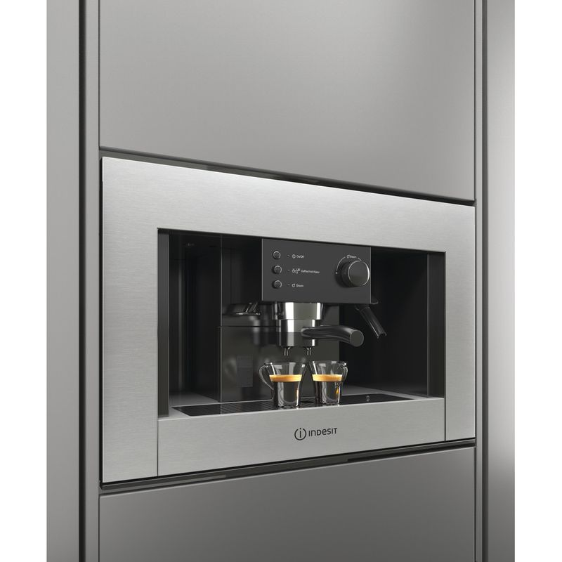 Indesit-Built-in-coffee-machine-CMI-5038-IX-Inox-Half-automatic-Lifestyle-perspective