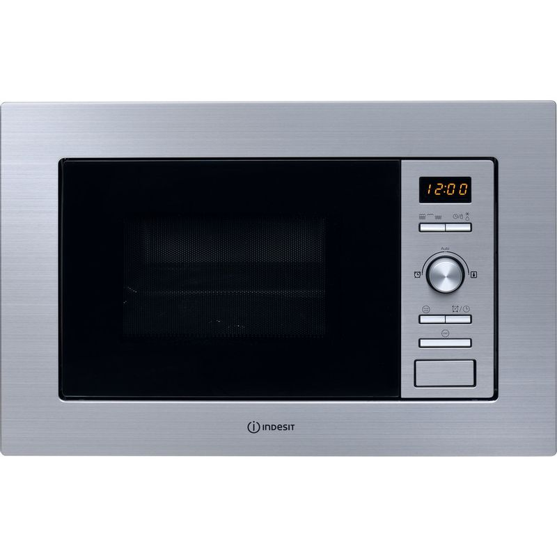 Indesit-Microwave-Built-in-MWI-122.2-X--UK--Inox-Electronic-20-MW-Grill-function-800-Frontal