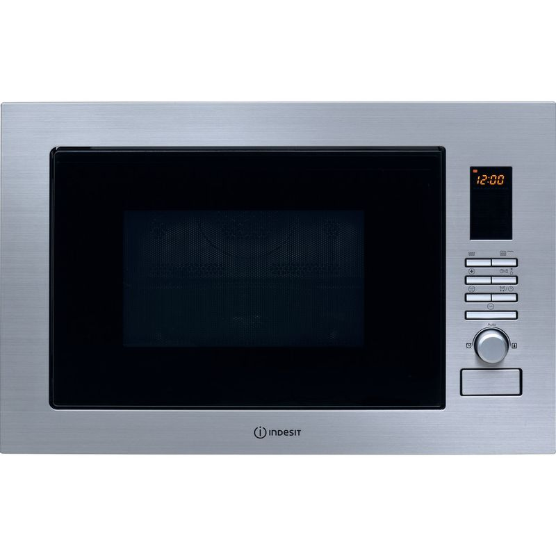 Indesit-Microwave-Built-in-MWI-222.2-X-UK-Inox-Electronic-25-MW-Combi-900-Frontal