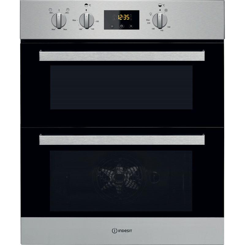 Indesit-Double-oven-IDU-6340-IX-Inox-B-Frontal