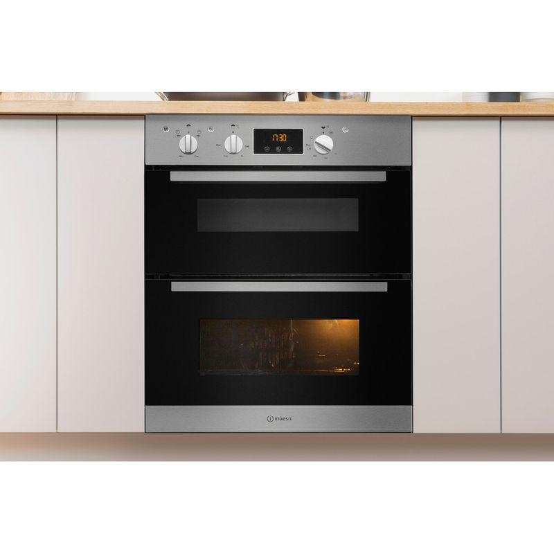 Indesit-Double-oven-IDU-6340-IX-Inox-B-Lifestyle-frontal